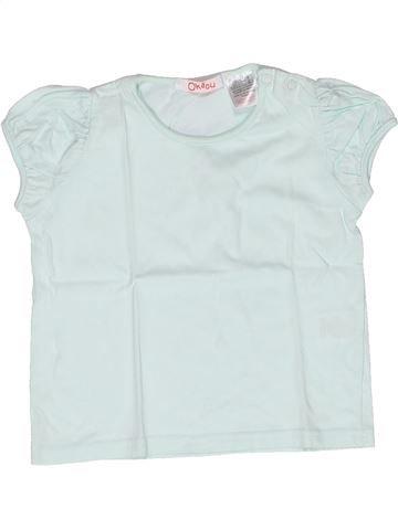 Camiseta de manga corta niña LA REDOUTE CRÉATION azul 2 años verano #1269111_1