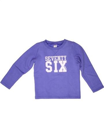 Sweat fille DOMYOS violet 6 ans hiver #1269212_1