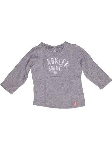 T-shirt manches longues fille NOPPIES gris 3 ans hiver #1269277_1