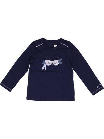 Camiseta de manga larga niña JEAN BOURGET azul 2 años invierno #1269281_1