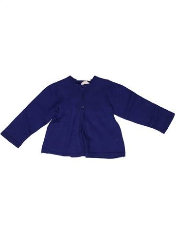 Chaleco niña CYRILLUS azul 2 años invierno #1269286_1