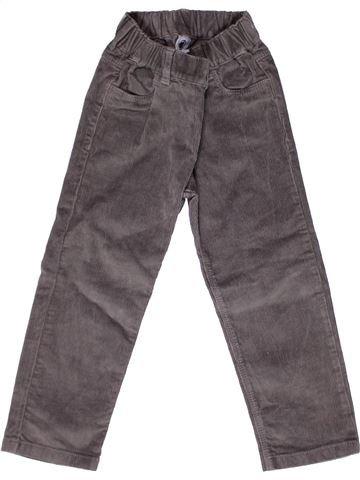 Pantalon garçon PETIT BATEAU gris 3 ans hiver #1269395_1