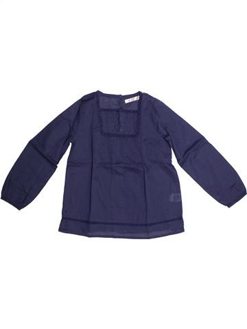 Blouse manches longues fille CFK bleu 6 ans hiver #1269413_1