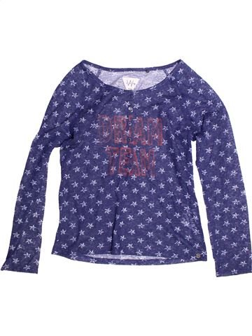 Camiseta de manga larga niña IKKS azul 13 años invierno #1269496_1