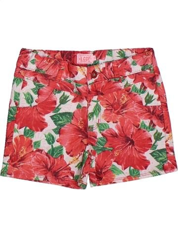 Short-Bermudas niña LA COMPAGNIE DES PETITS rojo 5 años verano #1269566_1