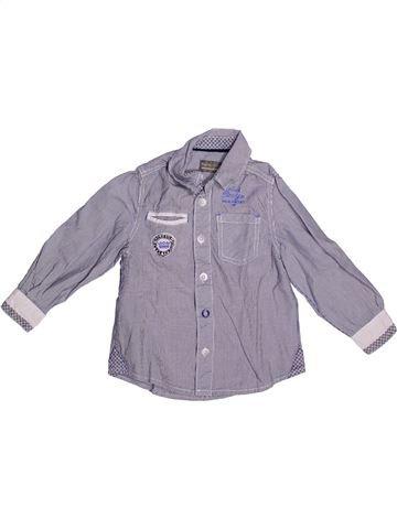 Camisa de manga larga niño ORCHESTRA gris 3 años invierno #1269629_1
