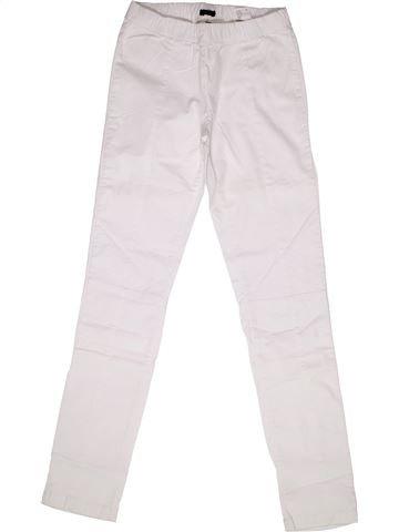 Pantalón niña IKKS blanco 14 años verano #1269762_1