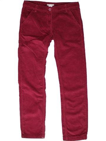 Pantalon fille LA REDOUTE CRÉATION violet 12 ans hiver #1269830_1