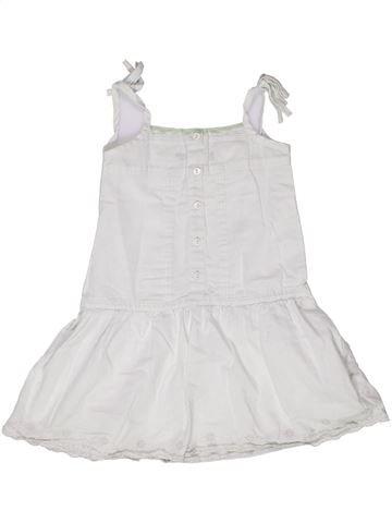 Vestido niña TOUT COMPTE FAIT blanco 6 años verano #1269946_1