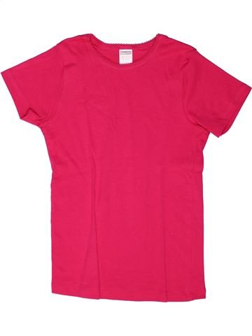 T-shirt manches courtes fille ABSORBA rouge 12 ans été #1270154_1