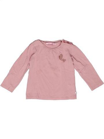 Camiseta de manga larga niña GEMO rosa 2 años invierno #1270173_1