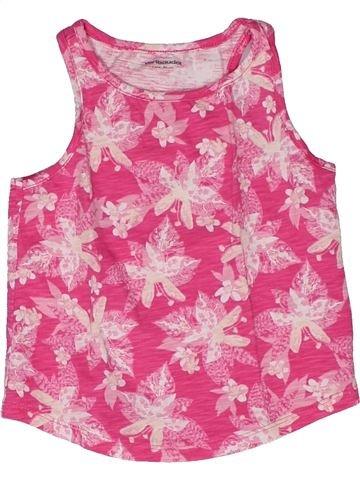 T-shirt sans manches fille VERTBAUDET rose 2 ans été #1270174_1