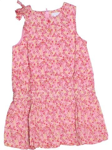 Robe fille OKAIDI rose 2 ans été #1270291_1