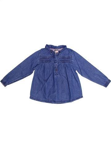 Blusa de manga larga niña TAPE À L'OEIL azul 3 años invierno #1270453_1