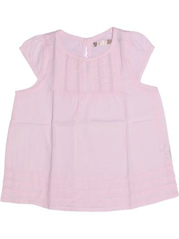 Blusa de manga corta niña CFK rosa 3 años verano #1270601_1