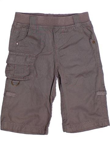 Pantalon fille VERTBAUDET gris 3 ans été #1270620_1
