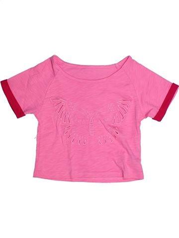 T-shirt manches courtes fille LA COMPAGNIE DES PETITS rose 8 ans été #1270711_1