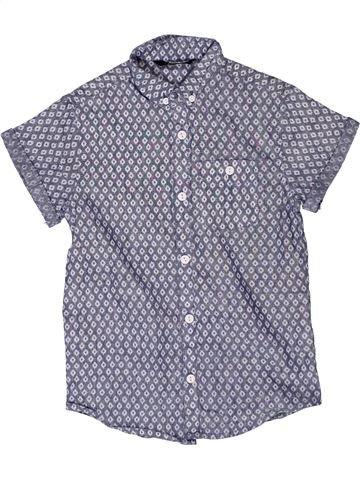 Camisa de manga corta niño GEORGE azul 7 años verano #1270723_1
