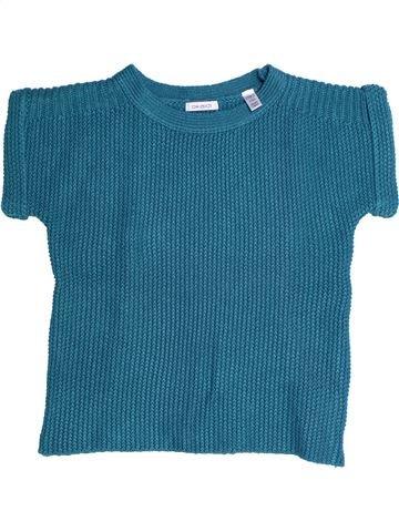 Pull fille OKAIDI bleu 10 ans hiver #1270901_1