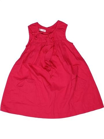 Robe fille DPAM rouge 18 mois été #1271012_1