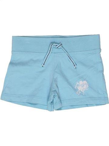 Short - Bermuda fille VYNIL FRAISE bleu 5 ans été #1271019_1