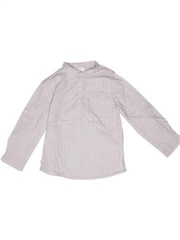 Camisa de manga larga niño LA REDOUTE CRÉATION blanco 6 años invierno #1271051_1