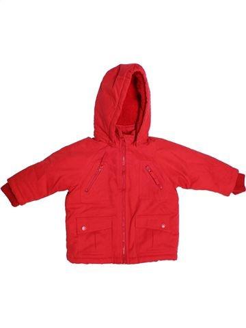 Manteau garçon TEX rouge 9 mois hiver #1271175_1
