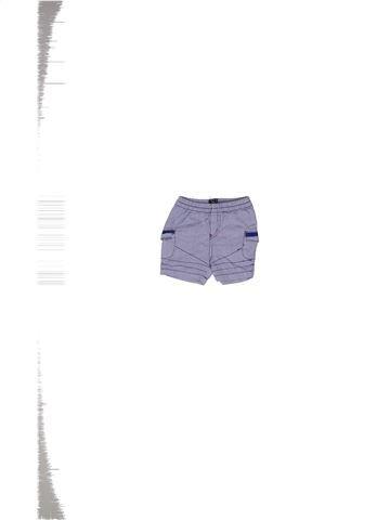 Short - Bermuda garçon ELLE EST OÙ LA MER bleu 3 mois été #1271226_1