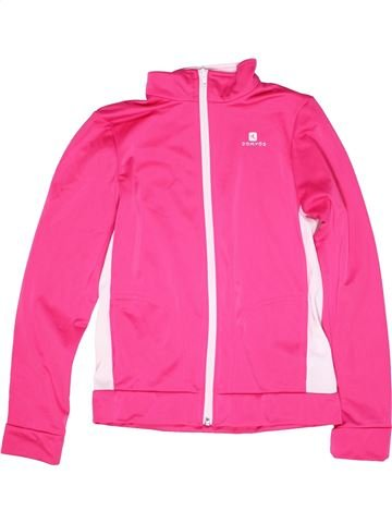 Sportswear fille DOMYOS rose 12 ans hiver #1271509_1