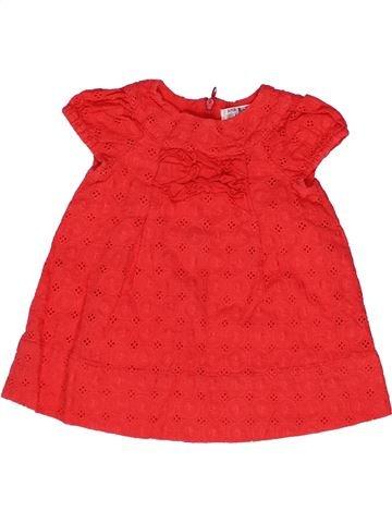 Robe fille ZARA rouge 9 mois été #1271792_1