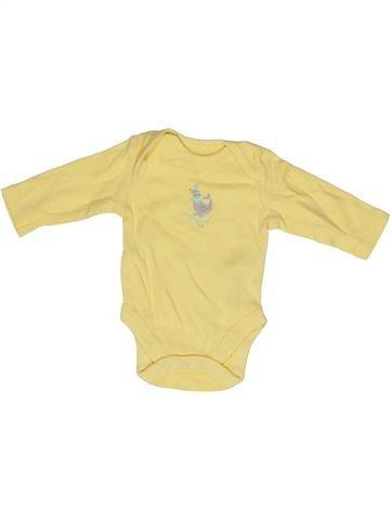 T-shirt manches longues unisexe F&F beige naissance hiver #1271802_1