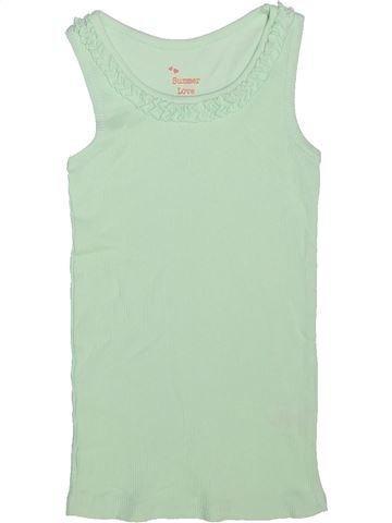 T-shirt sans manches fille MATALAN vert 5 ans été #1271840_1