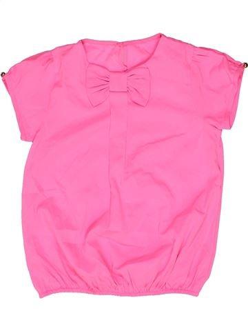 Blusa de manga corta niña DUNNES STORES rosa 5 años verano #1271853_1