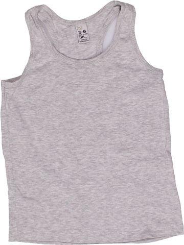 T-shirt sans manches fille ZARA gris 6 ans été #1271856_1
