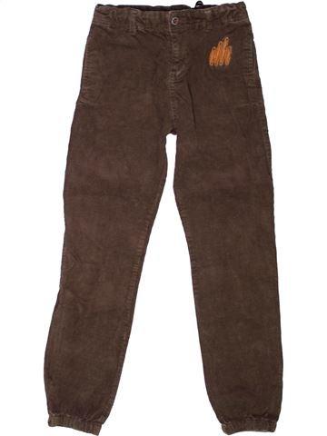 Pantalon garçon DPAM marron 12 ans hiver #1271963_1