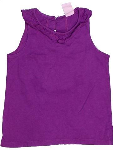 T-shirt sans manches fille H&M violet 9 mois été #1272433_1