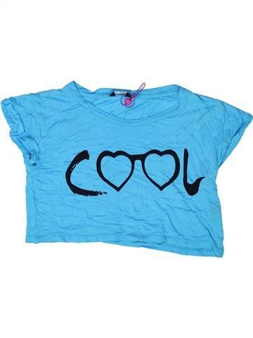 T-shirt manches courtes fille KYLIE bleu 12 ans été #1272584_1