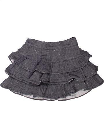 Jupe fille OKAIDI gris 3 ans hiver #1272800_1