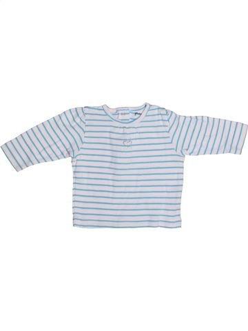 T-shirt manches longues fille GRAIN DE BLÉ gris 3 mois hiver #1272860_1