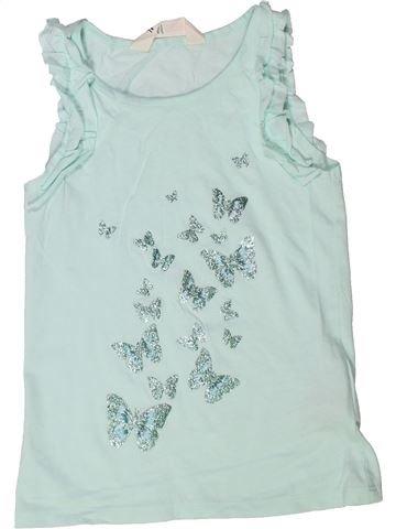 T-shirt sans manches fille H&M gris 6 ans été #1272931_1