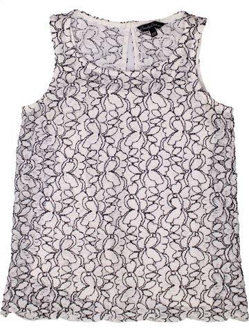 Blusa de manga corta niña CANDY COUTURE blanco 11 años verano #1273094_1