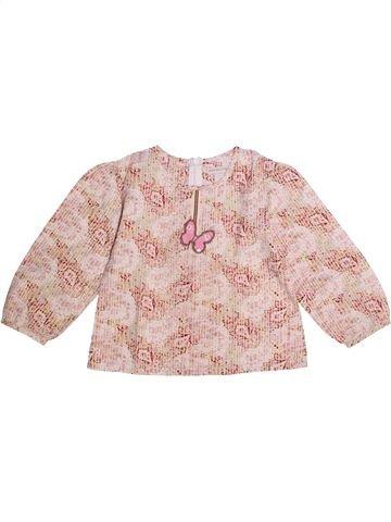 Blusa de manga larga niña ORCHESTRA rosa 4 años invierno #1273169_1