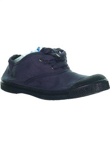Zapatos con cordones niña BENSIMON azul 29 verano #1273282_1