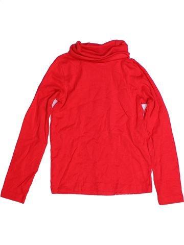 T-shirt col roulé garçon LUPILU rouge 6 ans hiver #1273469_1