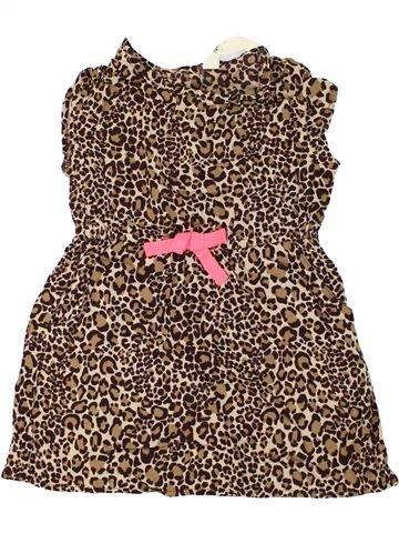 Vestido niña H&M marrón 3 años verano #1273901_1