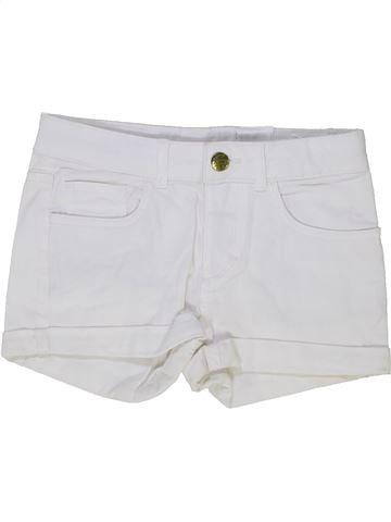 Short-Bermudas niña H&M blanco 10 años verano #1274023_1