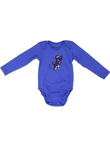 T-shirt manches courtes garçon LUPILU bleu 3 ans hiver #1274157_1