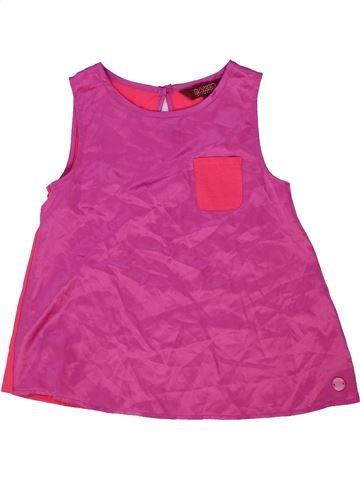 Blouse manches courtes fille BAKER violet 8 ans été #1274365_1