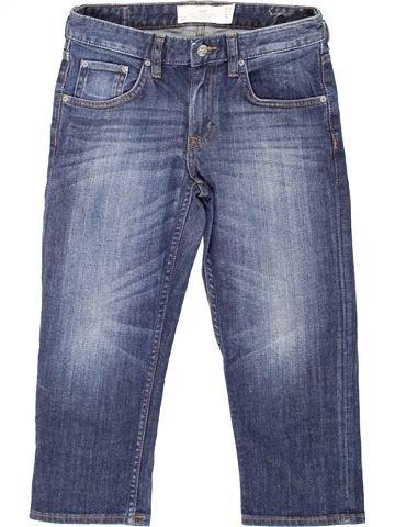 Pantalón corto niño H&M azul 14 años verano #1274570_1