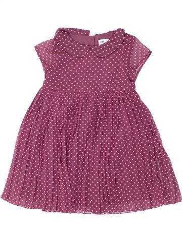 Vestido niña H&M violeta 6 años verano #1274867_1